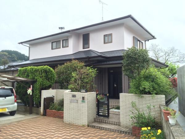 4月1日完成です。太宰府市御笠・N様邸 外壁塗装・屋根塗装工事