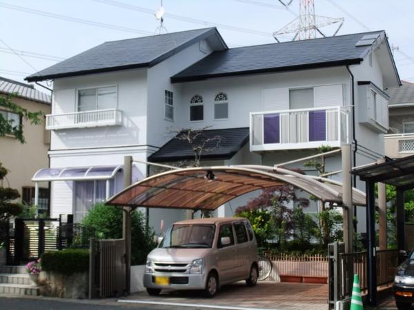 5/18完成です。筑紫野市・K様邸 外壁塗装・屋根塗装工事