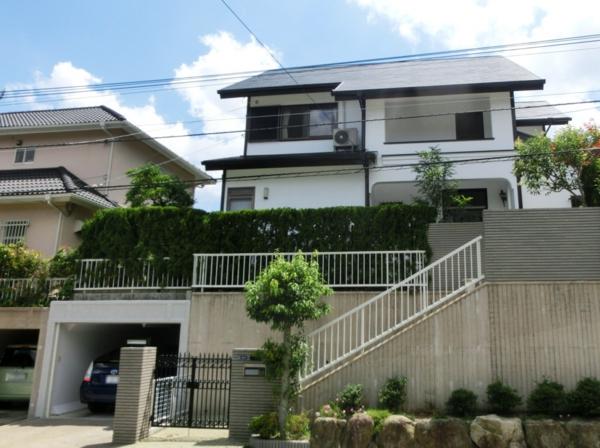 7月10日完成です。筑紫野市天拝坂・T様邸 外壁塗装・屋根塗装工事