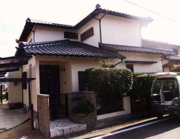 12月26日完了です。筑紫野市吉木・U様邸 外壁塗装・屋根塗装工事