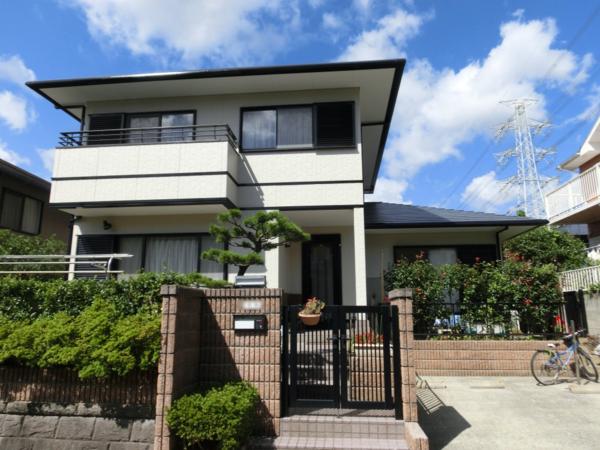 10/1完成です。筑紫野市T・様邸 外壁塗装・屋根塗装工事