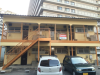 3月12日完成です。大野城市白木原・西田アパート様 外壁塗装・屋根塗装工事