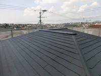 10月2日完成です。大野城市つつじヶ丘・O様邸 外壁塗装・屋根塗装工事