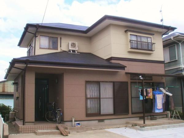 3/8完成です。三井郡・Y様邸 外壁塗装・屋根塗装工事