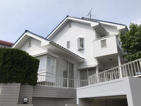 5/28完成です。東区香椎駅東・K様邸 外壁塗装工事