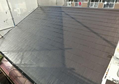 4/11完成です。久留米市合川町・U様邸 屋根塗装工事