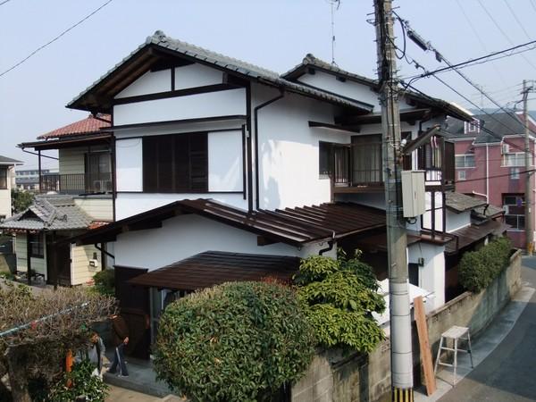 5/8完成です。太宰府市・K様邸 外壁塗装・屋根塗装工事