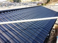 1月26日完成です。太宰府市石坂・K様邸 外壁塗装・屋根塗装工事