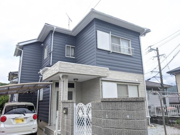 6/27完成です。筑紫野市阿志岐・K様邸 外壁塗装・屋根塗装工事