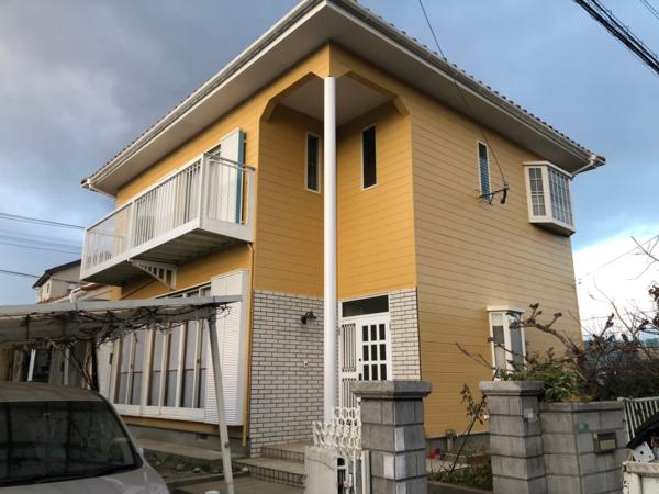 12/16完成です。筑紫野市石崎・N様邸 外壁塗装工事