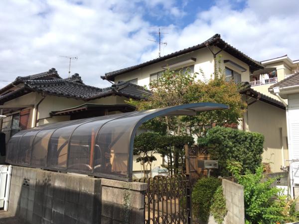 11/2完成です。春日市春日・H様邸 外壁塗装工事