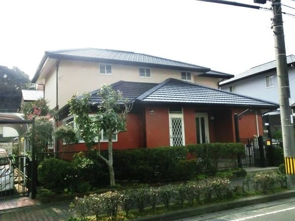 1月17日完成です。筑紫野市光が丘・K様邸 外壁塗装・屋根塗装工事