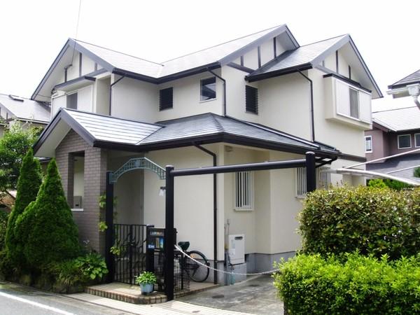 9/10完成です。筑紫野市光が丘・F様邸 外壁塗装・屋根塗装工事