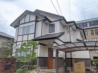 7/24完成です。筑紫野市天拝坂・H様邸 外壁塗装工事
