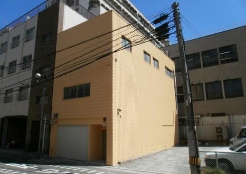 5/9完成です。福岡市・M事務所 外壁塗装・屋上防水工事