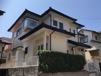 8/31完成です。福岡市東区舞松原・O様邸 外壁塗装・屋根塗装工事