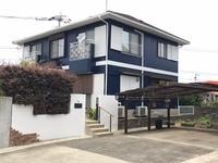 6月6日完成です。三井郡大刀洗町・H様邸 外壁塗装・屋根塗装工事