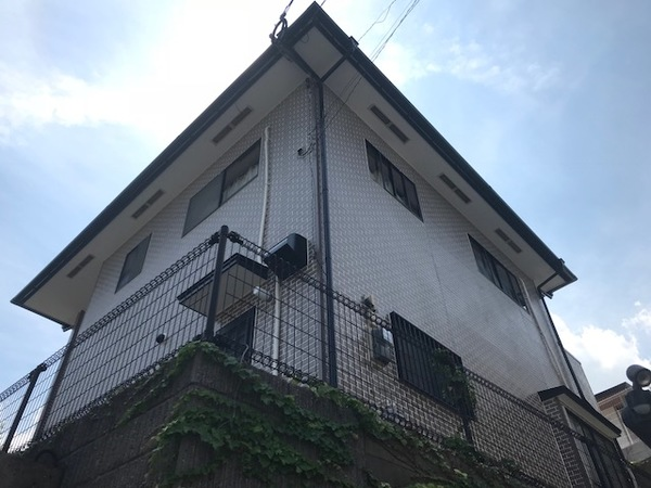 8月20日完成です。福岡市西区上山門・Y様邸 外壁塗装・屋根塗装工事
