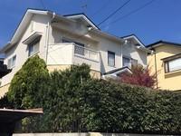 4/13完成です。大野城市大城・F様邸 外壁塗装・屋根塗装工事
