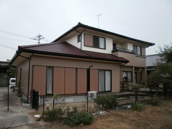 5/20完成です。久留米市・F様邸 外壁塗装工事