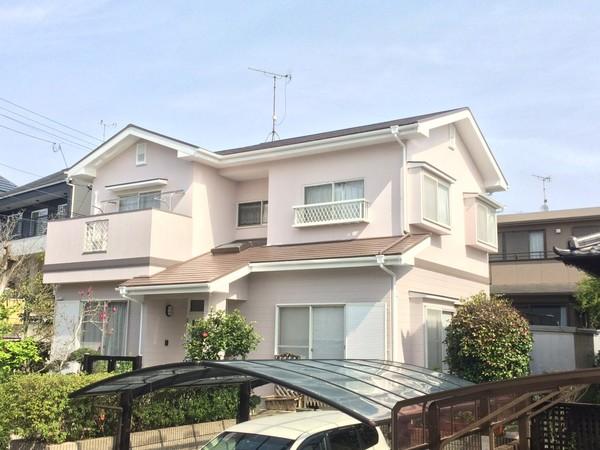 3月29日完成です。筑紫野市紫・K様邸 外壁塗装・屋根塗装工事
