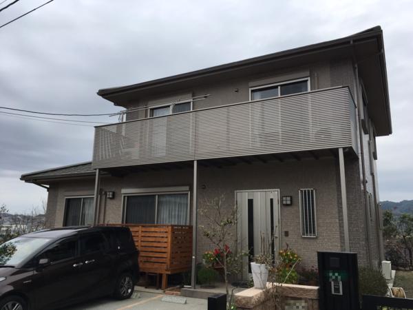 11/5完成です。太宰府市高雄・Y様邸 外壁塗装・屋根塗装工事
