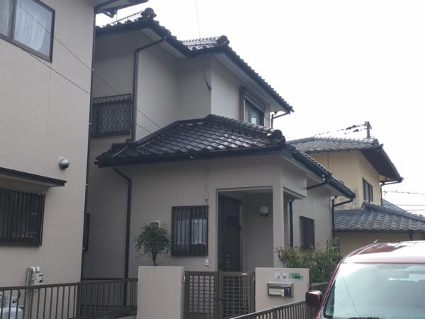 3/6完成です。太宰府市国分・I様邸 外壁塗装工事