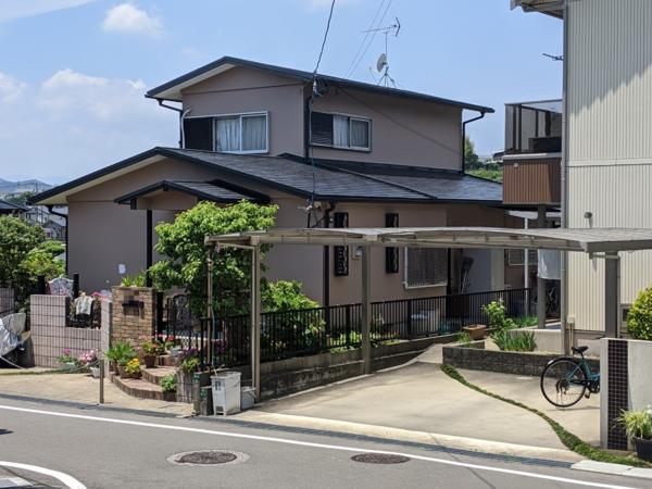 5/27完成です。太宰府市高雄・N様邸 外壁塗装・屋根塗装工事