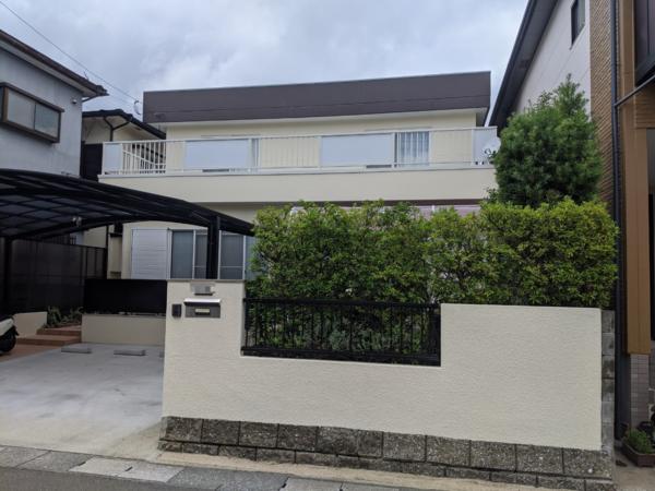 6/27完成です。太宰府市青山・I様邸 外壁塗装・屋根塗装工事