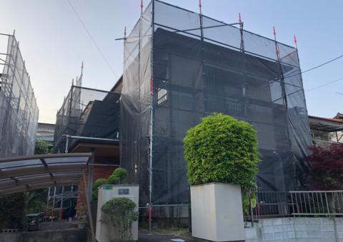 太宰府市梅香苑・T様邸 外壁塗装・屋根塗装工事 4/21着工です。