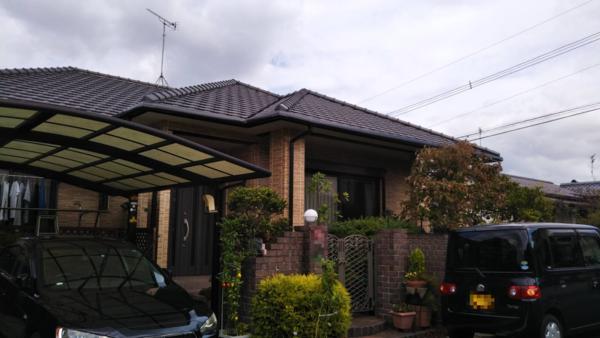 10/15完成です。太宰府市梅が丘・M様邸 外壁塗装工事