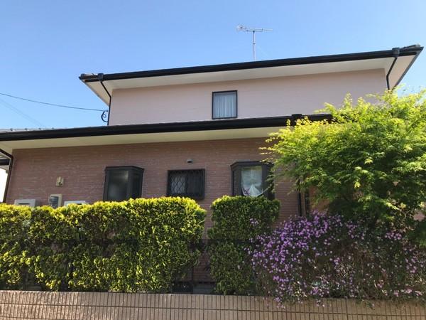 5/12完成です。福岡市東区青葉・I様邸 外壁塗装工事