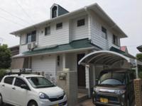 6/6完成です。福岡市東区三苫・Y様邸 外壁塗装・屋根塗装工事