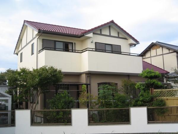 7/24完成です。久留米市国分町・O様邸 外壁塗装・屋根塗装工事