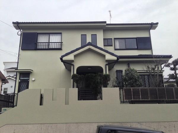 2月20日完成です。太宰府市高雄・A様邸 外壁塗装・屋根塗装工事