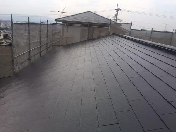 11/29完成です。太宰府市水城・M様邸 屋根塗装工事