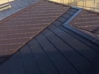 10/3完成です。筑紫野市原田・T様邸 屋根塗装工事