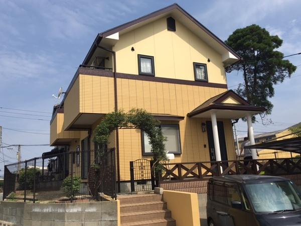 6月9日完成です。筑前町朝日・M様邸 外壁塗装・屋根塗装工事