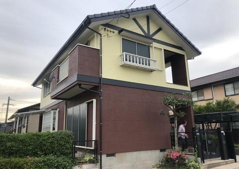 5/28完成です。筑紫野市美しが丘北・M様邸 外壁塗装・屋根塗装工事