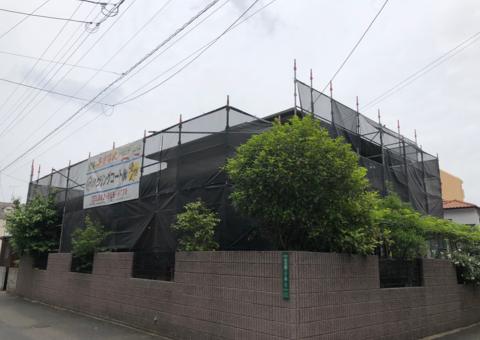 大野城市白木原・H様邸 外壁塗装・屋根塗装工事 5/8着工です。