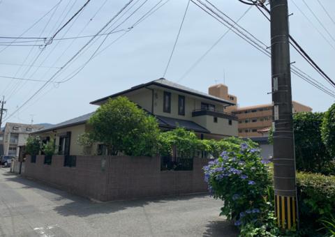 5/25完成です。大野城市白木原・H様邸 外壁塗装・屋根塗装工事