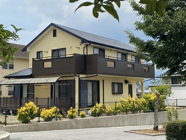6/29完成です。筑紫野市美しが丘南・I様邸 外壁塗装・屋根塗装・サイディング一部張り替え工事