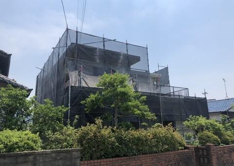筑紫野市吉木・O様邸 外壁塗装・防水塗装工事 6/15着工です。