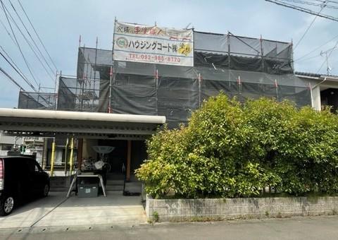 筑紫野市針摺東・M様邸 外壁塗装・屋根塗装工事 6/26着工です。
