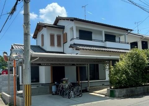 7/30完成です。筑紫野市針摺東・M様邸 外壁塗装・屋根塗装工事