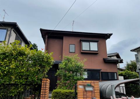 7/17完成です。太宰府市石坂・Y様邸 屋根塗装工事