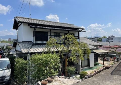 7/29完成です。筑紫野市二日市北・Y様邸 外壁塗装工事