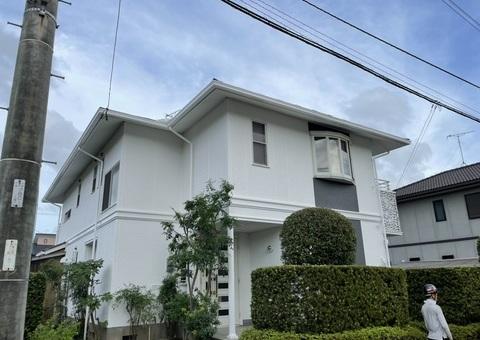 7/5完成です。小郡市小郡・T様邸 外壁塗装・屋根塗装工事