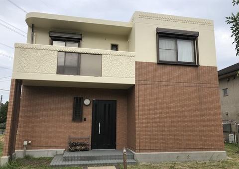 9/30完成です。佐賀県三養基郡基山町・K様邸 外壁塗装・防水塗装工事