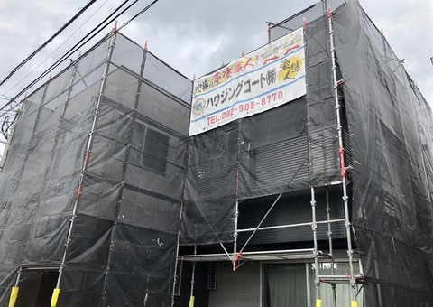 早良区飯倉・H様邸 外壁塗装工事 7/5着工です。